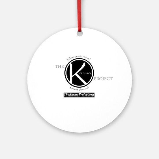 KarmaLogo.gif Ornament (Round)