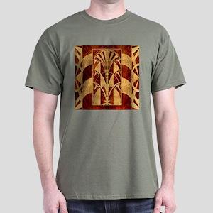 Harvest Moon's Art Deco Panel Mens Dark T-Shirt