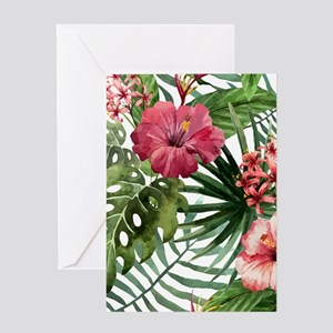 Watercolor Flowers Greeting Cards