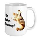 Hang In There Baby Large Mug