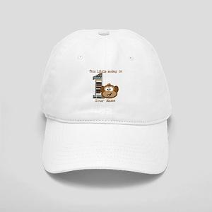 1st Birthday Monkey Personalized Cap