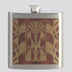 Harvest Moon's Art Deco Panel Flask