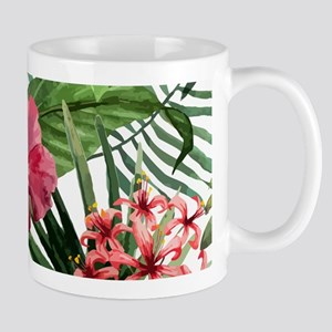Watercolor Flowers Mugs
