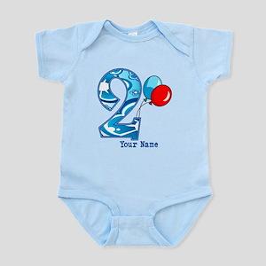 2nd Birthday Personalized Infant Bodysuit