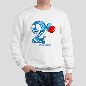 2nd Birthday Personalized Sweatshirt