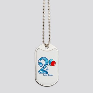 2nd Birthday Personalized Dog Tags