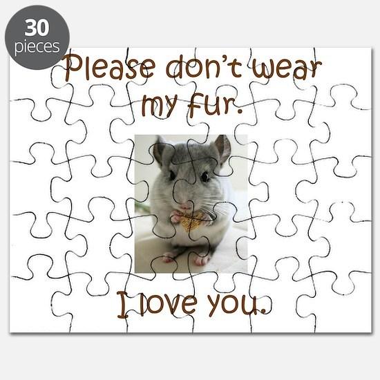 Chinchilla No Fur Puzzle