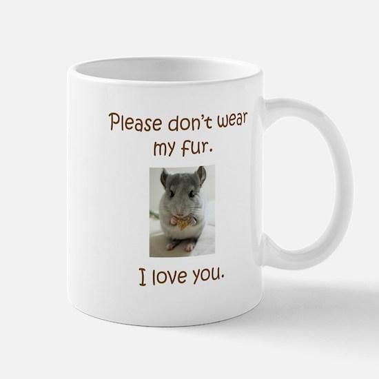 Chinchilla No Fur Mugs