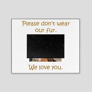 Fox No Fur Picture Frame