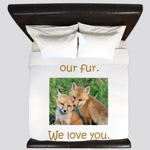 Fox No Fur King Duvet
