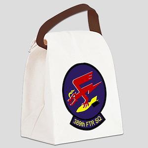 389sq Canvas Lunch Bag