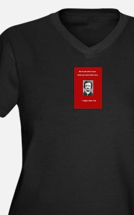 Unique Famous quotes Women's Plus Size V-Neck Dark T-Shirt