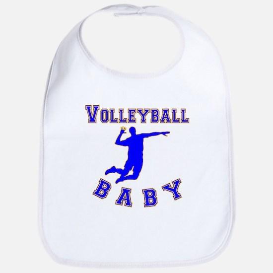 Volleyball Baby Bib
