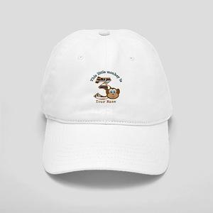 3rd Monkey Birthday Personalized Cap
