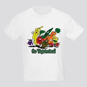 Go Vegetarian Kids T-Shirt