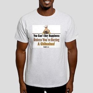 Happy Chihuahua Ash Grey T-Shirt