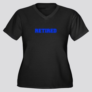 RETIRED-FRESH-BLUE Plus Size T-Shirt