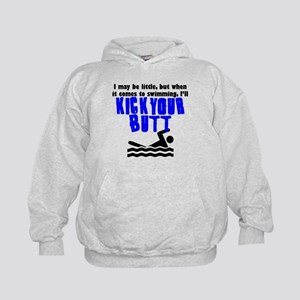 Kick Your Butt At Swimming Hoodie