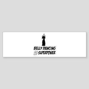Super power Running designs Sticker (Bumper)