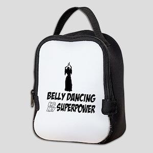 Super power Running designs Neoprene Lunch Bag