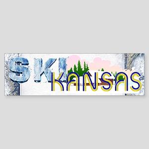 TOP Ski Kansas Sticker (Bumper)