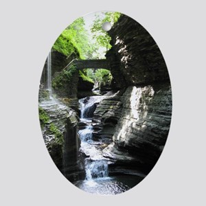 Watkins Glen, NY Ornament (Oval)