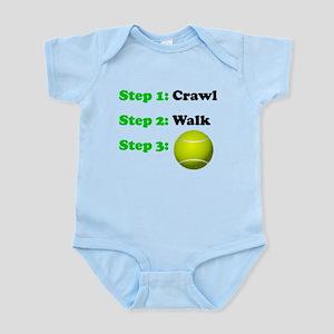 Crawl Walk Tennis Body Suit