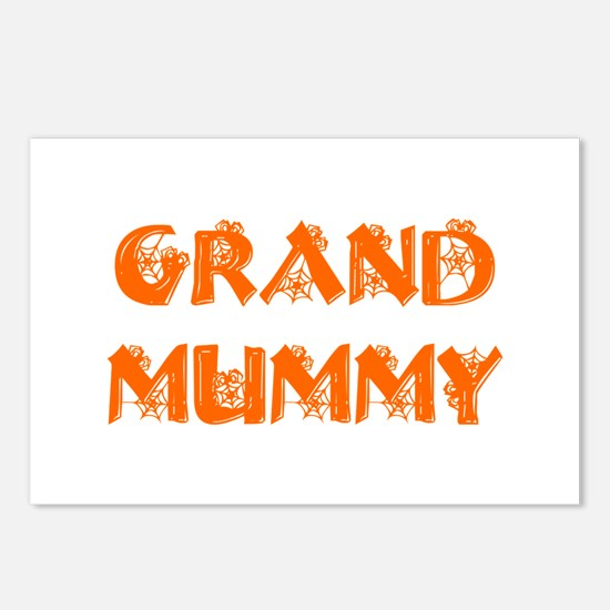 grand-mummy-hs-orange Postcards (Package of 8)