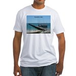 Busselton Jetty Fitted T-Shirt