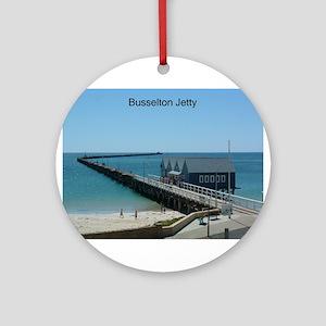Busselton Jetty Ornament (Round)