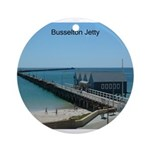 Busselton Jetty Ornament (Round)