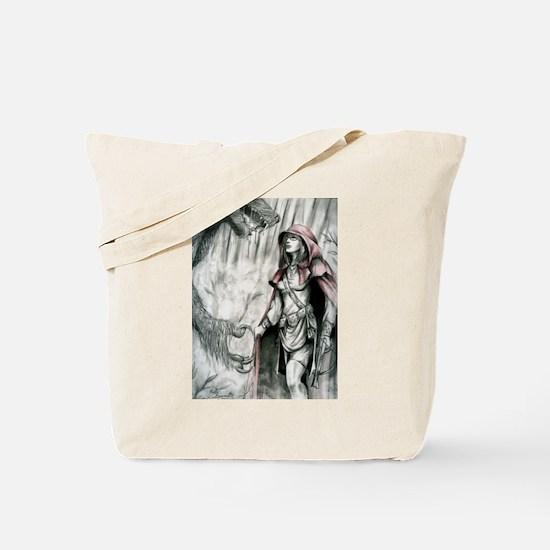 Red Riding Hoods Revenge Tote Bag