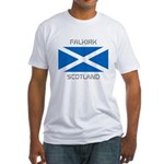 Falkirk Scotland Fitted T-Shirt
