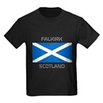 Falkirk Scotland Kids Dark T-Shirt