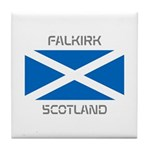 Falkirk Scotland Tile Coaster