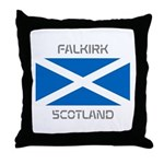 Falkirk Scotland Throw Pillow
