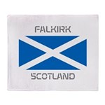 Falkirk Scotland Throw Blanket