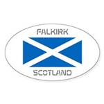 Falkirk Scotland Sticker (Oval)