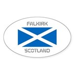 Falkirk Scotland Sticker (Oval 10 pk)