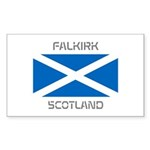 Falkirk Scotland Sticker (Rectangle 10 pk)