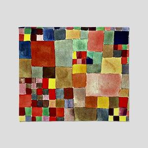 Paul Klee - Flora on Sand Throw Blanket