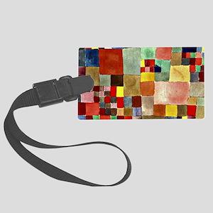 Paul Klee - Flora on Sand Large Luggage Tag