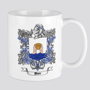 Moore Family Crest 5 Mugs