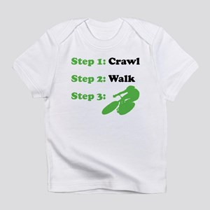 Crawl Walk Cycling Infant T-Shirt