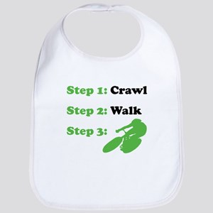 Crawl Walk Cycling Bib