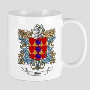 Moore Family Crest 4 Mugs