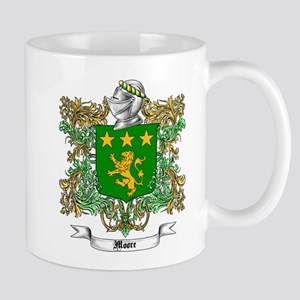 Moore Family Crest 1 Mugs