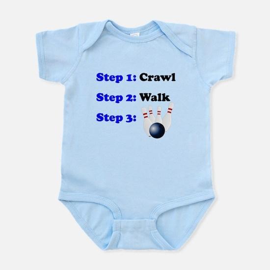 Crawl Walk Bowling Body Suit