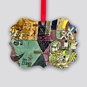 Paul Klee - Asian Entertainers Picture Ornament
