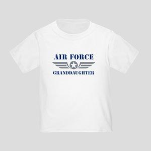 Air Force Granddaughter Toddler T-Shirt